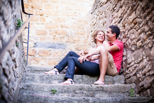 Laure et Pierre - Engagment session